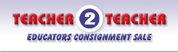 Teacher 2 Teacher - Educators Cosignment Sale
